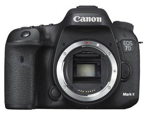 Canon EOS 7D Mark II  20.2MP Digital SLR Camera - Black