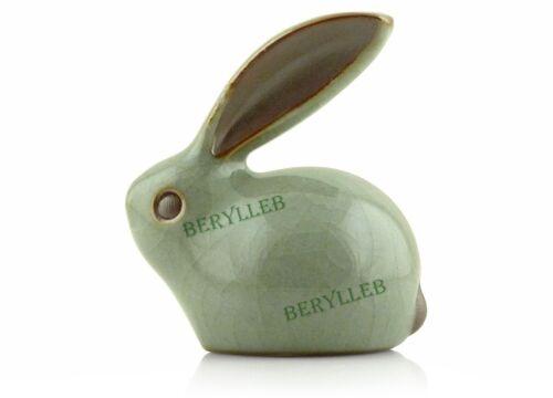 Free Shipping Little Lucky Rabbit Celadon Tea Pet Tea Curios