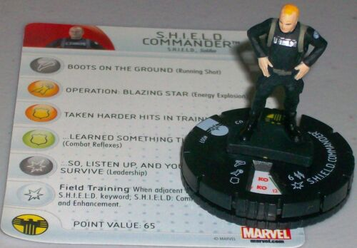 S.H.I.E.L.D COMMANDER #007 Captain America The Winter Soldier Marvel HeroClix