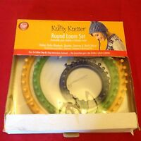Knotty Knitter Round Loom Set 3 Looms- 11, 9, 5