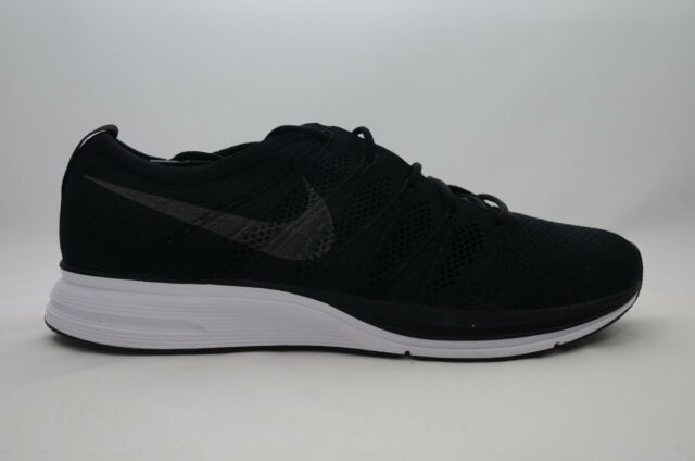 95c38a3a1d0 Nike Flyknit Trainer Mens Size 9.5 Crossfit Black White Shoes Ah8396 007