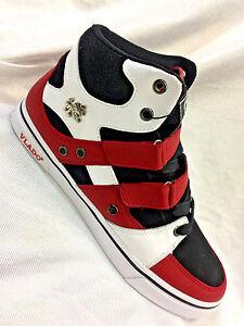 Men-039-s-Vlado-Knight-Red-Black-White-Boots