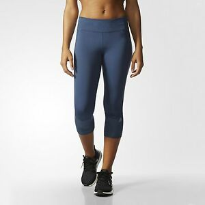 Details about Adidas AI8259 Women Running Supernova tight 34 pants navy Tights