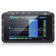Digital 72Mhz ARM Oszilloskop DSO203 4 Kanal Quad LCD Oscilloscope USB + 2MB