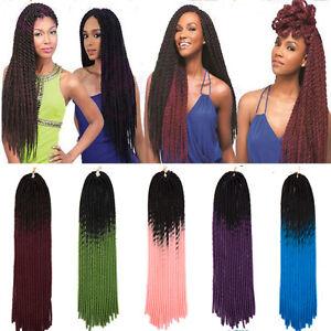 20roots Pcs Ombre Braids Hair Extension Dreadlocks Twist Crochet