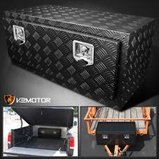36 Heavy Duty Black Aluminum Tool Box Truck Trailer Underbody Storagelocks