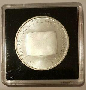 10 Euro argent Allemagne 2002 50 ans de télévision allemande UNC  caps quadrum