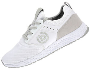 Bugatti-Men-039-s-Sneakers-Casual-Shoes-Trainers-Running-Shoes-Sneakers-White-New