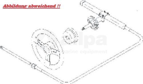 20 für ° Montagesatz für 20 Teleflex-Lenkung SS137 Safe-T QC 07bbe5