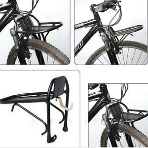 1x-Aluminum-Alloy-Bike-Bicycle-Front-Rack-Luggage-Shelf-Carrier-Panniers-Bracket