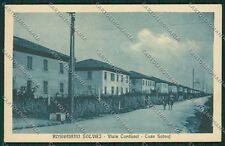 Livorno Rosignano Marittima Solvay cartolina QQ3781