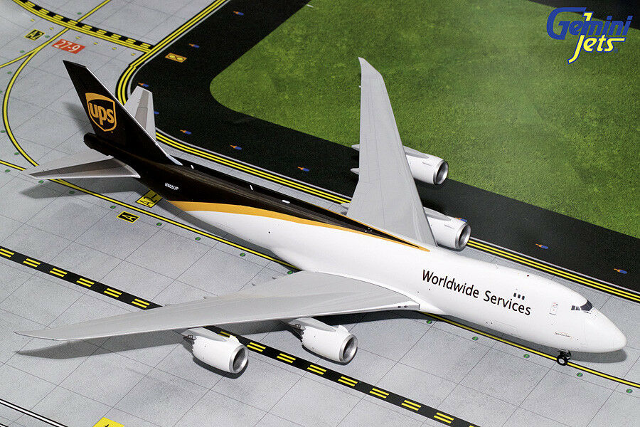 GEMINI JETS UPS AIRLINES BOEING B747-8F 1 200 DIESCAST modeLL G2UPS 644 IN STOCK