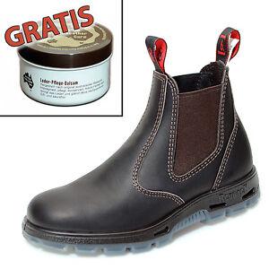 Redback-Farm-amp-Country-Chelsea-Work-Boots-Stiefelette-UBOK-Braun-Lederpflege