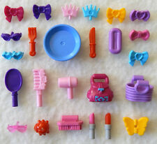25 NEW LEGO FRIENDS ACCESSORY LOT female parts girl accessoires purse bows pink
