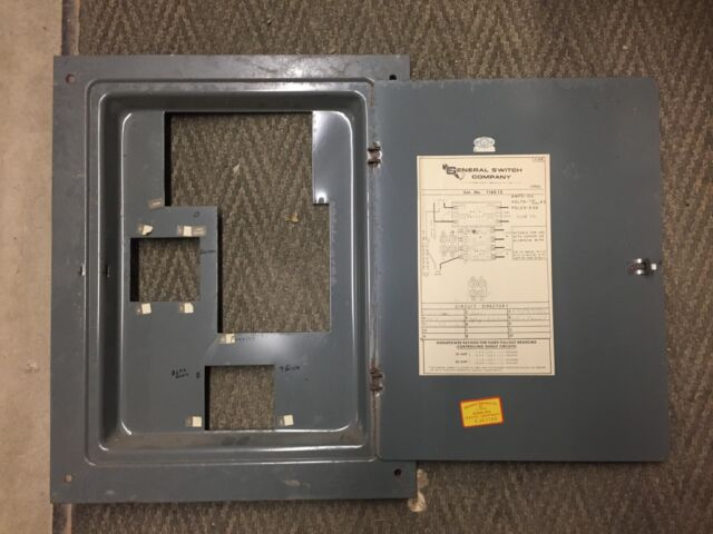 GENERAL SWITCH CORP CAT NO 1163-12 FUSE PANEL FUSE BOX DEADFRONT COVER for  sale onlineeBay
