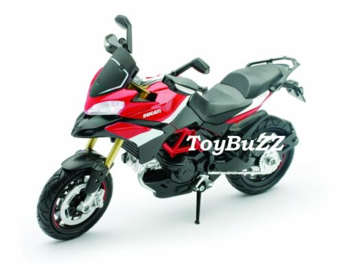 NEWRAY 1:12 Motorcycles Bike Ducati Multistrada 1200S Pikes Peak 57533 New 2014