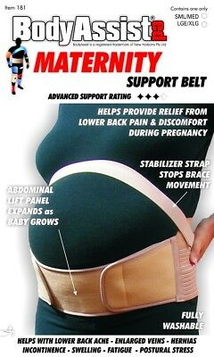Hospitable Bodyassist Elastic Maternity Support Belt Pregnancy Back Postnatal Birth Grade Products According To Quality Belly Belts, Bands