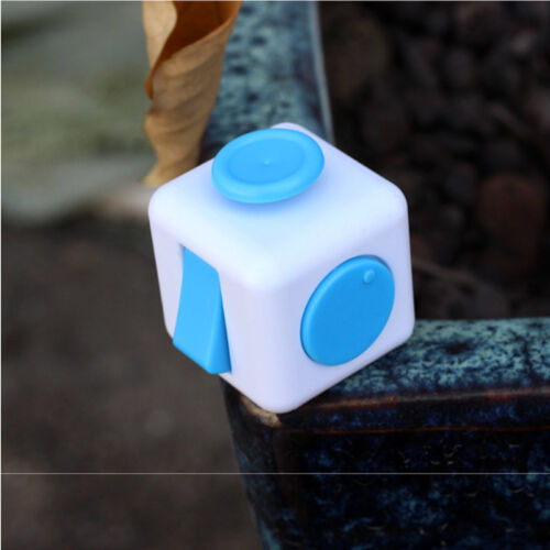 EduTECH Fidget Cube ADHD-Spectrum Adult Size-Stress Relief Focus Tool