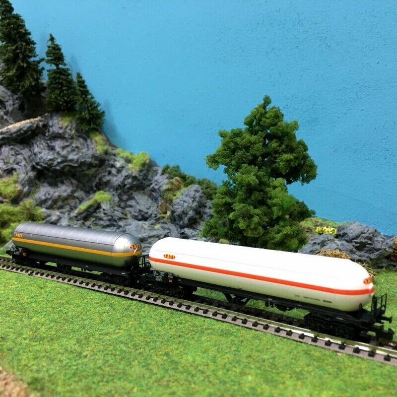 2 wagons citerne pare soleil Uas Sati Naphtachemie Sncf epIVN1160LSmodelloS 60