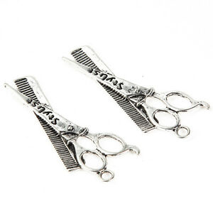 10pcs-styliste-Beads-Tibetan-Silver-Charms-Pendentif-A-faire-soi-meme-Jewelry-Making-47-24mm