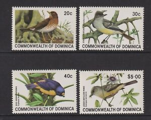 Dominica - 1981, Birds set - MNH - SG 742/5