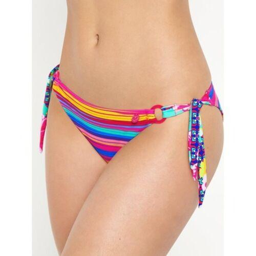 Lepel Sun Kiss Tie Side Pant Pink Multi Sizes 8-16