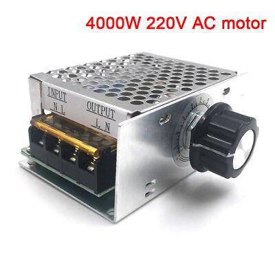 4000W AC 220V SCR Drehzahlregler Motor Elektronischer Spannungsregler