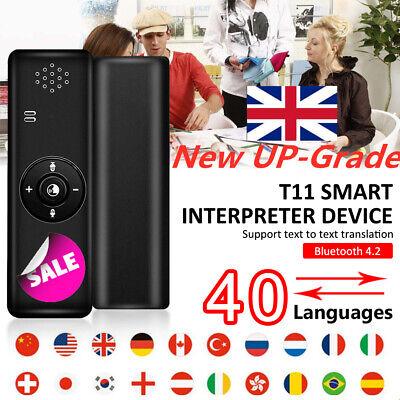 MUAMA Enence Translaty Smart Translator 2 Way Real Time Intercom 40 Language UK