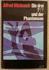 ALFRED-HITCHCOCK-Die-drei-und-der-Phantomsee-BUCH-Fragezeichen-Franckh-Gut