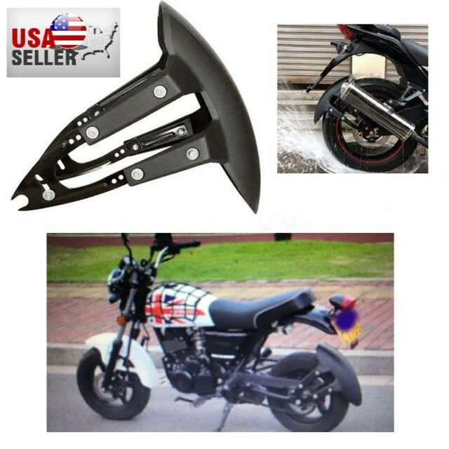 Bobbers Rear Plain Steel Mudguard To Suit 16 Inch Wheel Ideal For Classic Motorcycles Hard tails