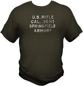 e0baaf1ee28 M1 Garand Heel Stamp T Shirt WWII CMP NRA Harvester Springfield ...