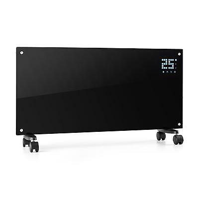 OFERTA INVIERNO Radiador Eléctrico Potencia 2000W 2 Niveles Programable Negro