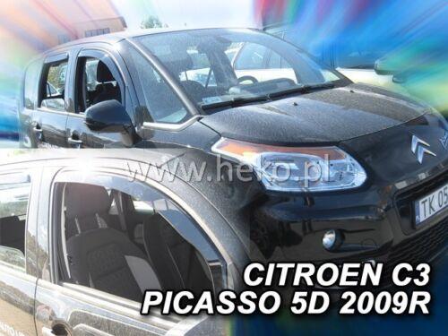 Heko derivabrisas citroen c3 picasso 5 türig 2 piezas a partir de año 2009 12246