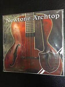 newtone archtop jazz guitar strings uk made ebay. Black Bedroom Furniture Sets. Home Design Ideas