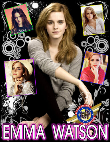 """Emma Watson /""""Movie Star/"""" Personalized T-shirts"""