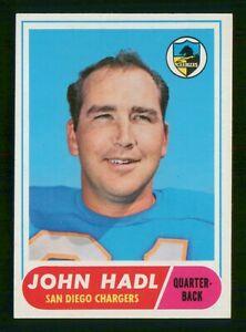 JOHN HADL 1968 TOPPS 68 NO 63 VGEX+  37129