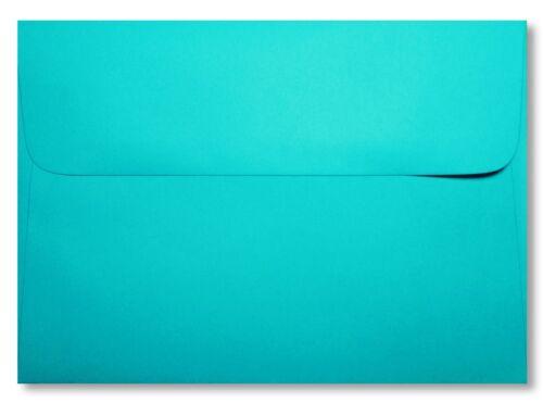 Turquoise//AQUA enveloppes pour douches Nouveautés Mariage Invitations A2 A6 A7