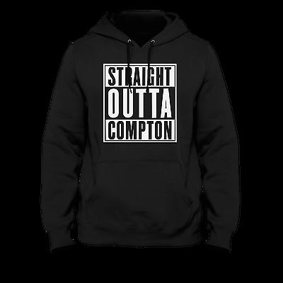 Eazy e Compton Raiders Uomo Felpa con cappuccio NWA Oakland RUTHLESS RECORDS Straight Outta