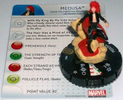 Attivo Medusa #042 #42 Galactic Guardians Marvel Heroclix Super Rare Attraente E Durevole