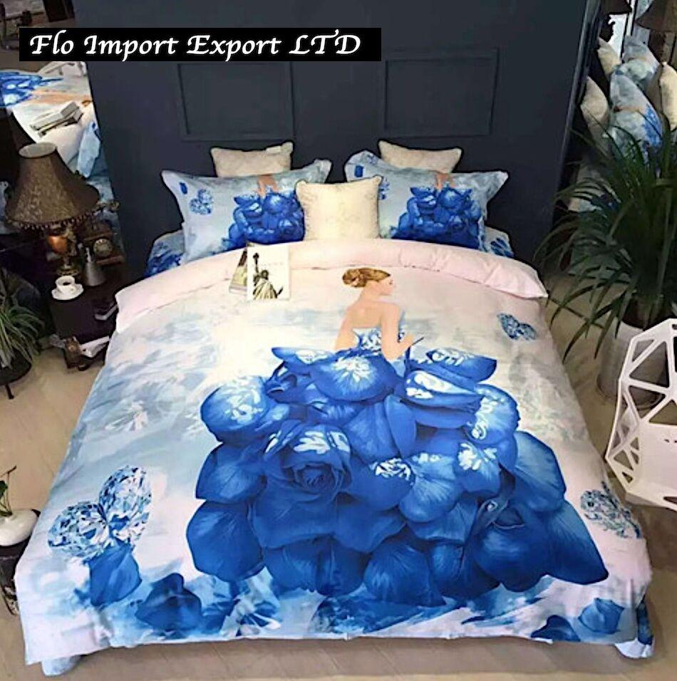 Set Letto Copri Piumone Piumone Piumone Lenzuolo Federe Copripiumone Duvet Cover Bed Set BED0037 b78c0e