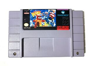 Plok-SUPER-NINTENDO-SNES-GAME-Tested-Working-amp-Authentic