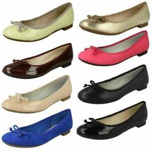 Zapatos Bailarina Detalles Planos De Clarks Mujer 1FKlcJT