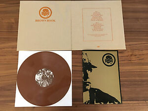 Death-In-June-Brown-Book-Vinyl-Brown-LP-Textured-Cloth-Sleeve-Reissue-Pylon-LTD
