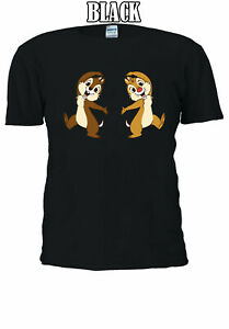 Disney-Chip-And-Dale-Movie-Cartoon-Best-Gift-Family-Men-Women-T-shirt-UnisexV118