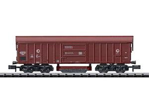 Minitrix-Trix-N-15500-Schienenreinigungswagen-Bauart-Taes-890-der-DB-NEU-OVP