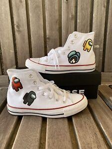 Among Us Custom Chuck Taylor Converse - Size 6 | eBay