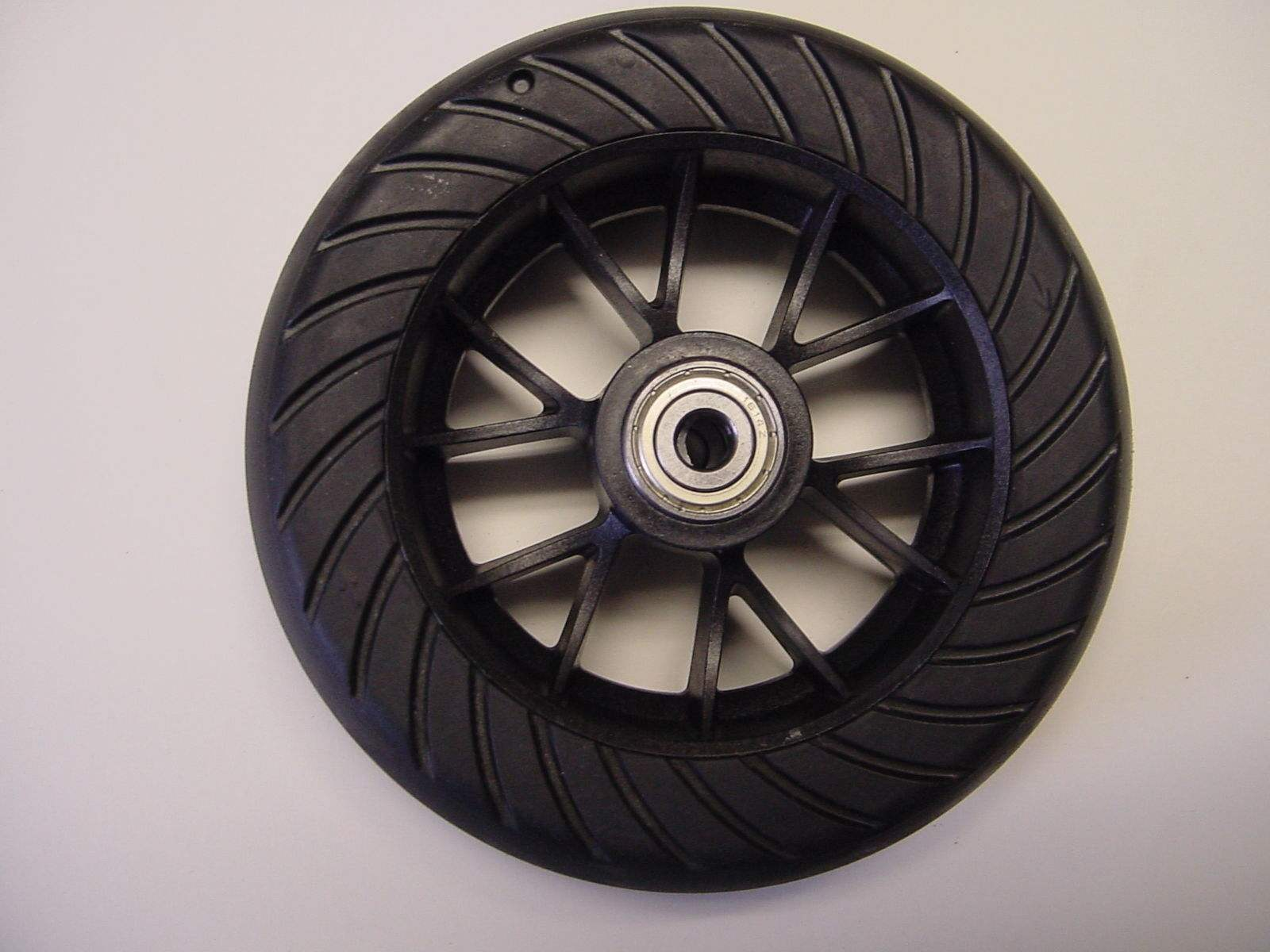 GoPed Brand 6 Hard Tire & Wheel Assembly