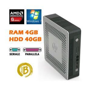 PC COMPUTER DESKTOP THIN CLIENT HP T610 PLUS AMD 4GB 40GB HDD RS232 COM-