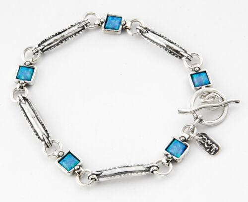 B00609OP SHABLOOL ISRAEL Didae Handcrafted Opal Sterling Silver 925 Bracelet