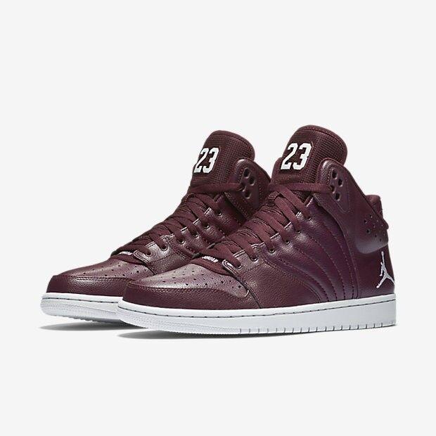 Nike Men's Air Jordan 1 Flight 4 Basketball shoes [820135-600 Night Maroon]